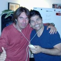 Dino Brentali with Greg Enriquez